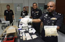 Police raid drug processing mini-lab in Bayan Lepas