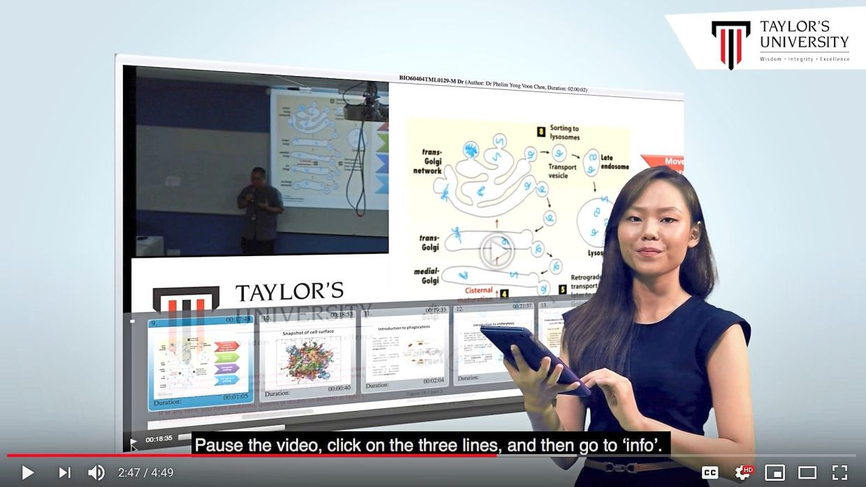 The ReWIND lecture capture system allows students to access over 40,000 recorded lectures online.