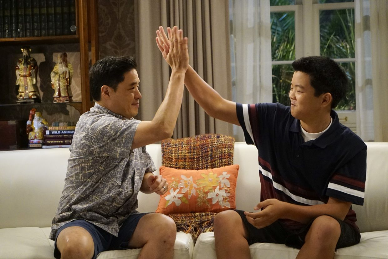 Park played the patriarch of the Huang family in 'Fresh Off The Boat' for six seasons.