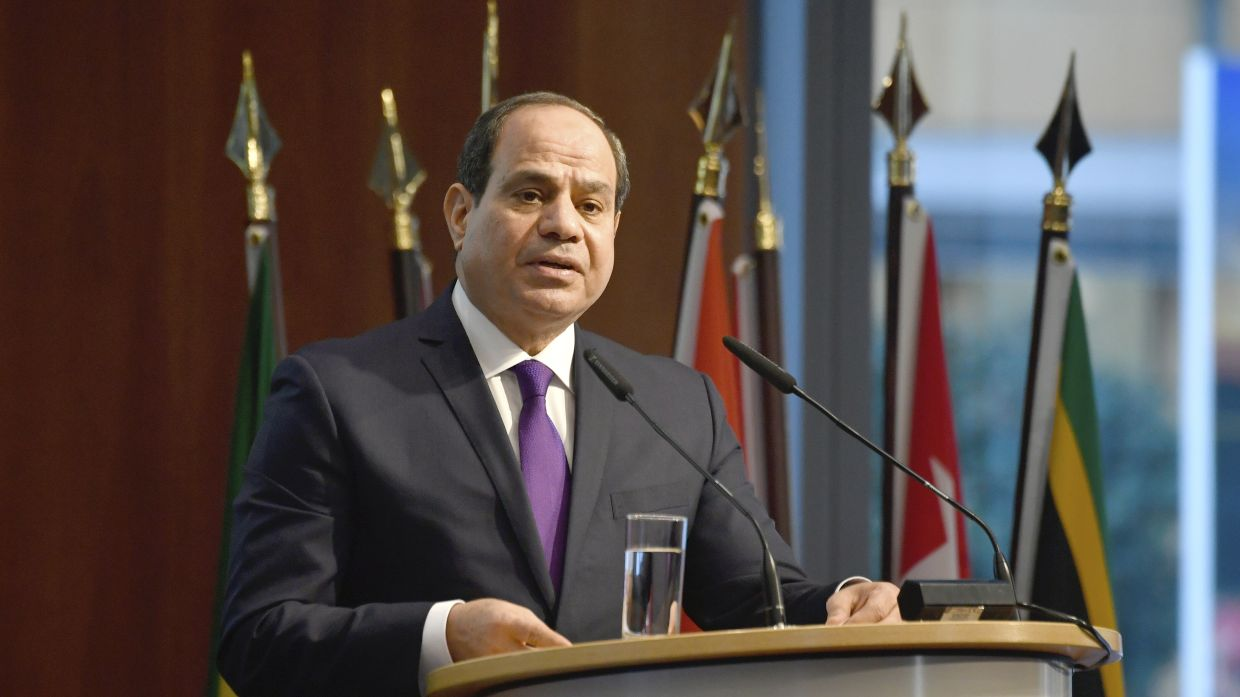 Since President Abdel Fattah al-Sisi came to power in 2014, hundreds of journalists, activists, lawyers and intellectuals have been arrested and many websites blocked in the name of state security. Photo: AP
