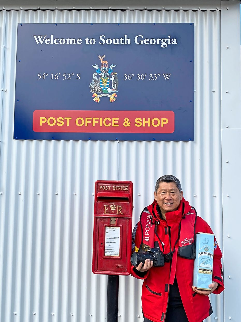 You can send a postcard to anywhere in the world from the island's humble post office.