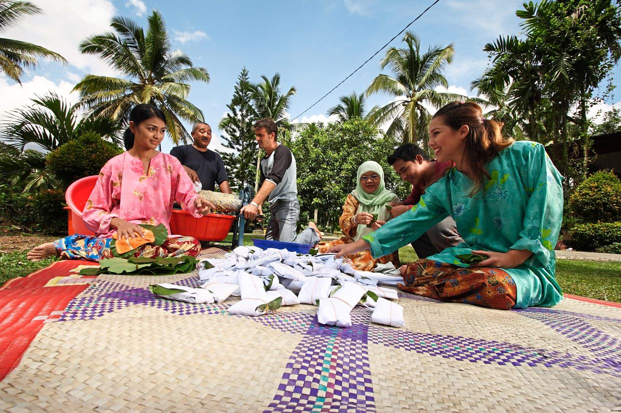 Feast on local food and engage in traditional games with your hosts at a local village.