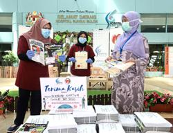 SMG gives 1,000 Kuntum copies to hospitals