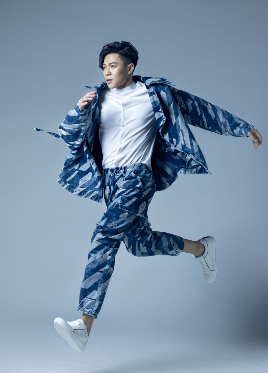 Peace Teo says 'Change' was inspired by MJ's Man In The Mirror. Photo: We Management