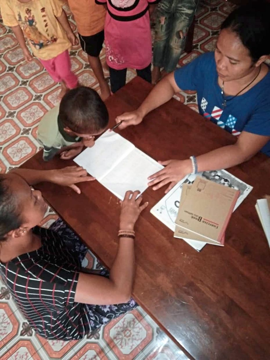 Suka Society's Orang Asli teachers visit homes to ensure children in rural villages continue learning when schools are closed.