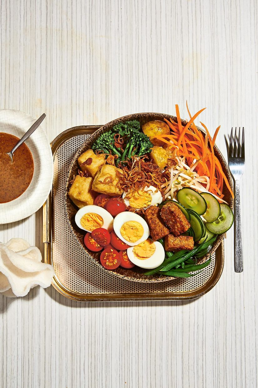 Gado gado is one of the 85 recipes that Lee has included in her cookbook.