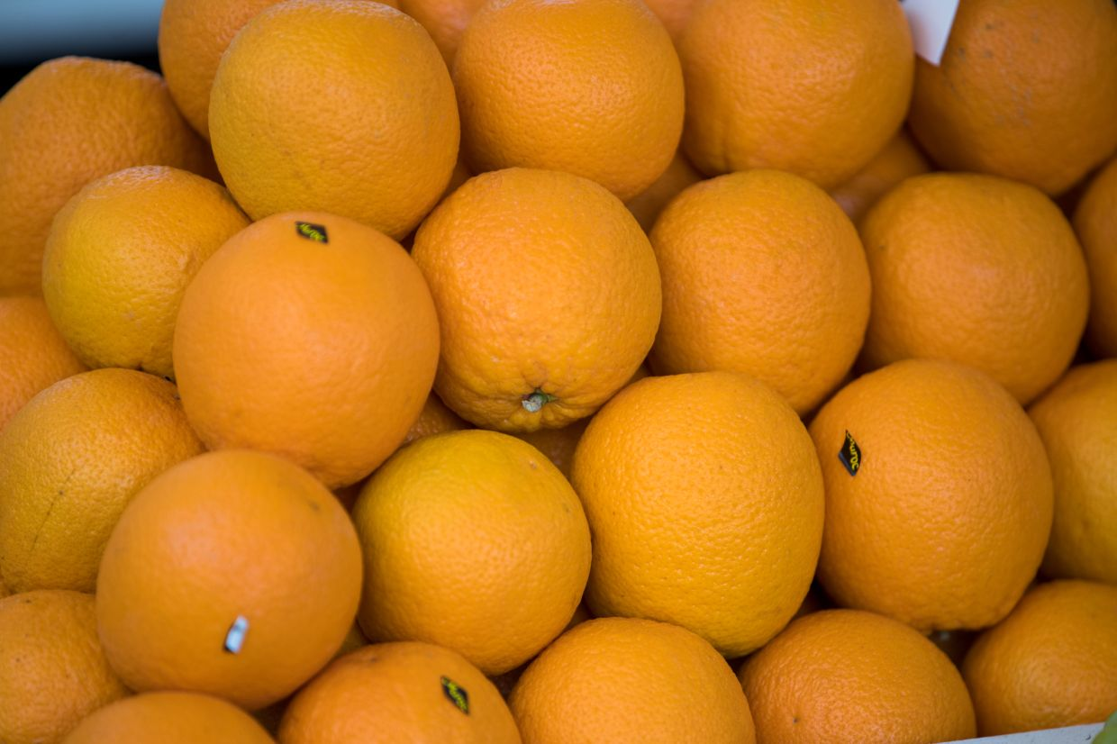 Oranges are a great source of Vitamin C. Photo: Bloomberg