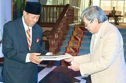 Selangor Sultan grants audience to former MB Khalid Ibrahim