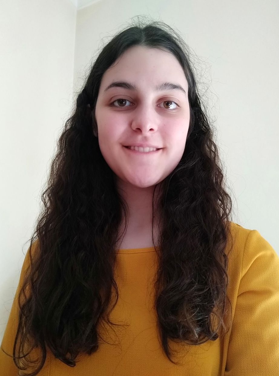 Silva, 22, is doing a part-time virtual internship from her parents' home in Porto, Portugal with an Asia-based social enterprise through Aston University in Birmingham, England, as part of her master's degree. — Catarina Silva/AP