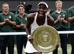 Sport-On this day: Born June 17, 1980: Venus Williams, American tennis player