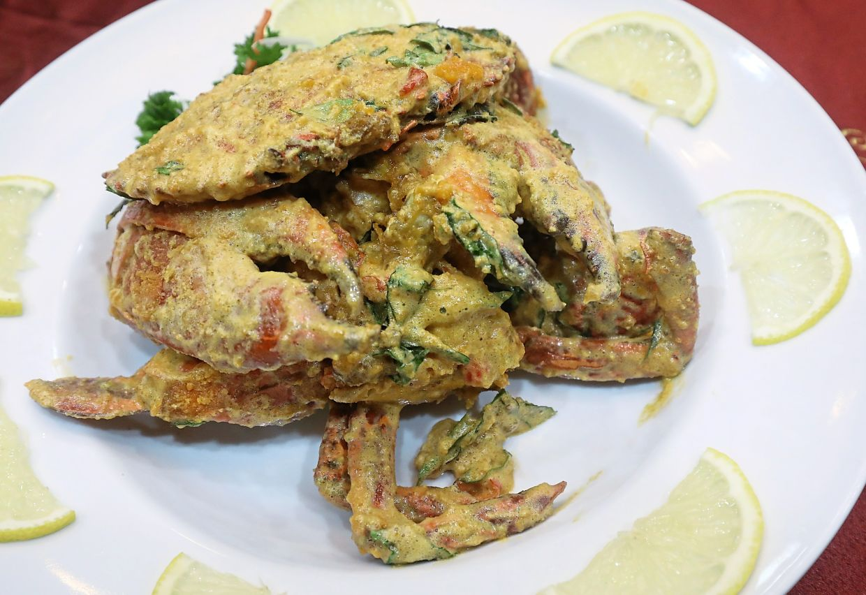 Salted Egg Crab.
