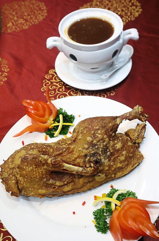 Teochew-style Crispy Skin Duck.