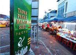 Sibu night market to reopen