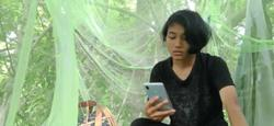Sabah girl stays in tree to get Internet connection