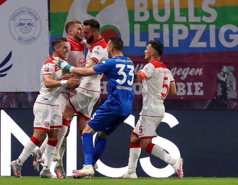 Football Leipzig Throw Away Two Goal Lead In Duesseldorf Draw The Star