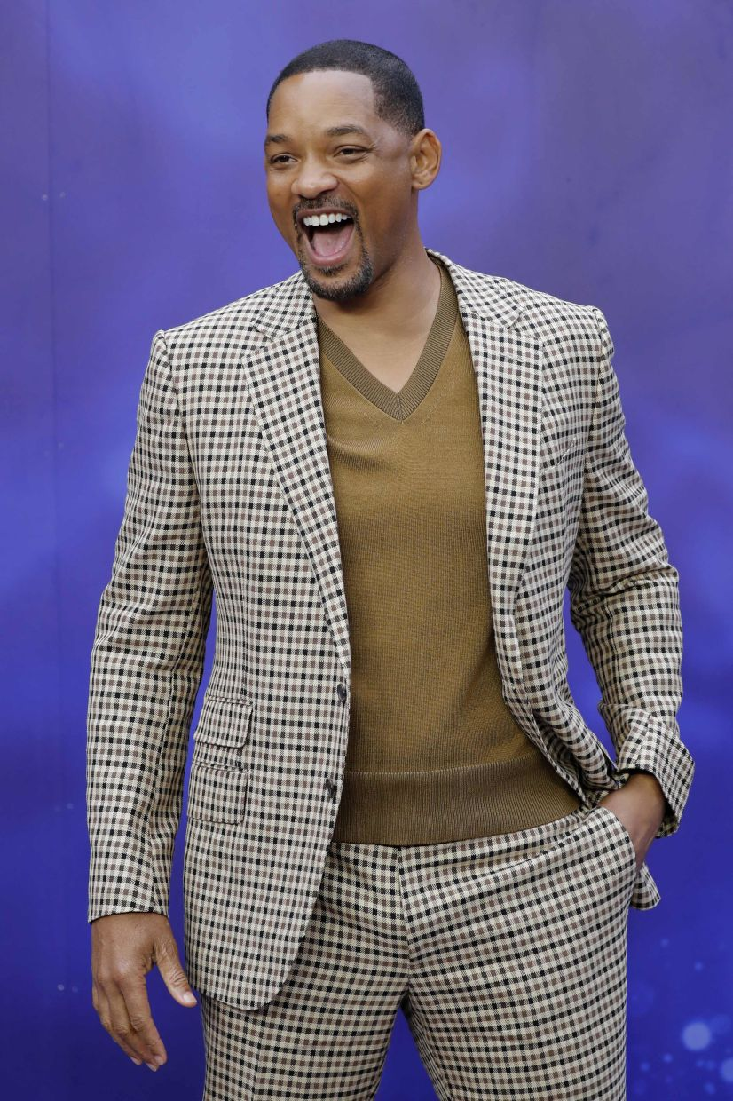 Will Smith is one of the actors interviewed in Dads. Photo: AFP