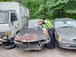 MBS issues notices to owners of abandoned vehicles in Senawang