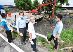 Drain sludge clearing that's long overdue