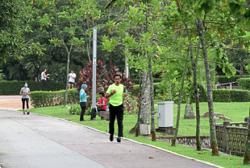 Bukit Kiara park reopens with added steps in place
