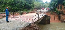 Heavy rains cause triple threat in Betong