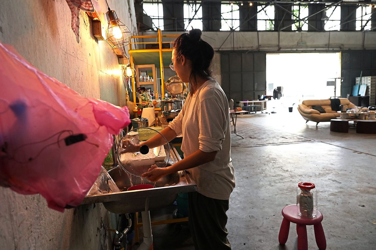 Low wanted to prove that KongsiKL has the potential to be an arts residency programme venue. Photo: Low Pey Sien