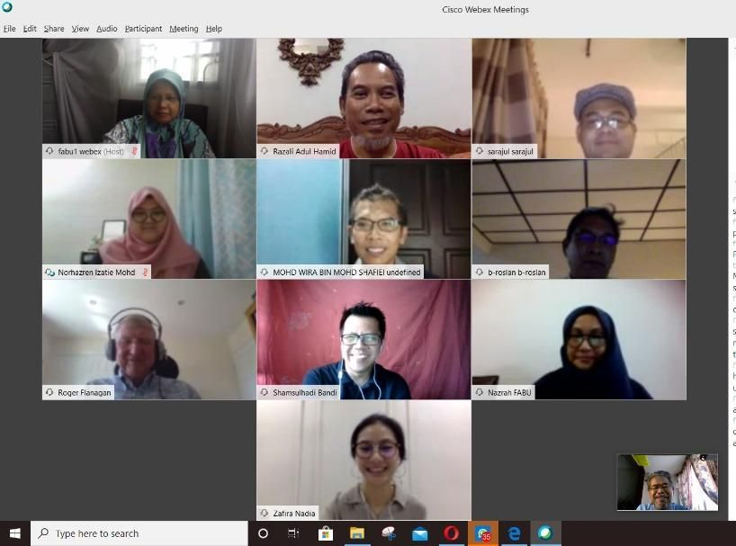 UTM conducts oral examination (viva-voce) via video conferencing as part of the online learning and teaching method upon their postgraduate students during the MCO period.