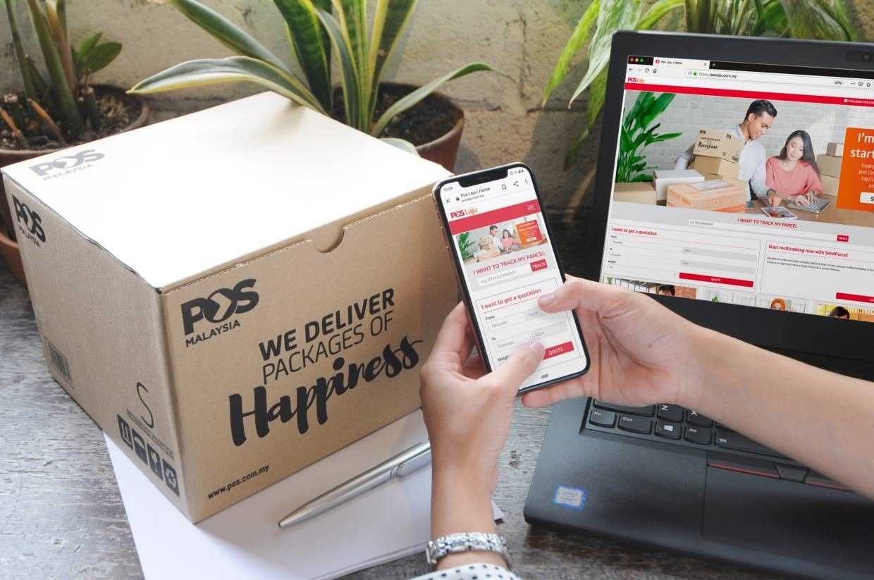 Pos Malaysia saw a 69% jump month-on-month (m-o-m) to an average daily parcel volume of 590,000 in April, during the full month of the movement control order (MCO).