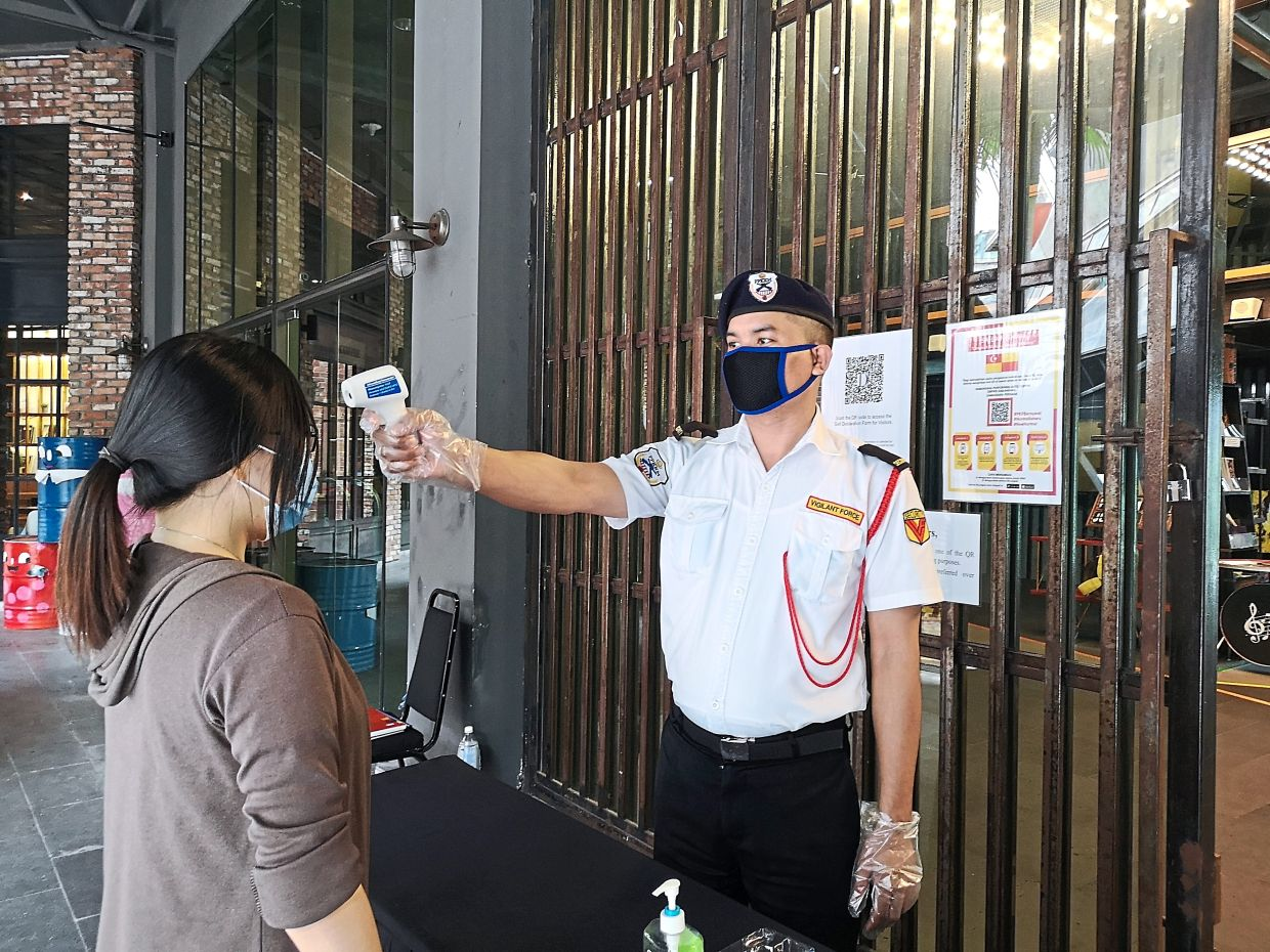 Public health guidelines set up by the government such as temperature checks, hand sanitiser stations and social distancing measures will be a part of the new normal at theatre venues. Photo: DPAC