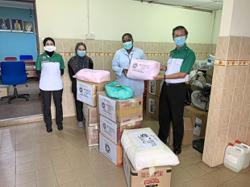 Volunteer body helps to fight Covid-19 outbreak