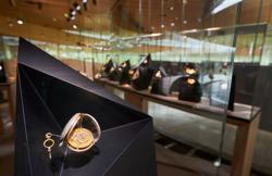 Audemars Piguet springs open spiral watch museum