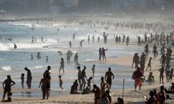 Brazilians flock to beach as WHO says country undercounting coronavirus surge