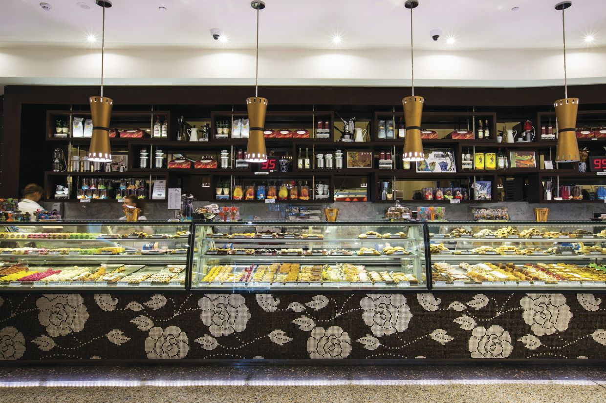 Feast on a wide array of pastries from popular Italian café Brunetti, Melbourne - photo: Visit Victoria