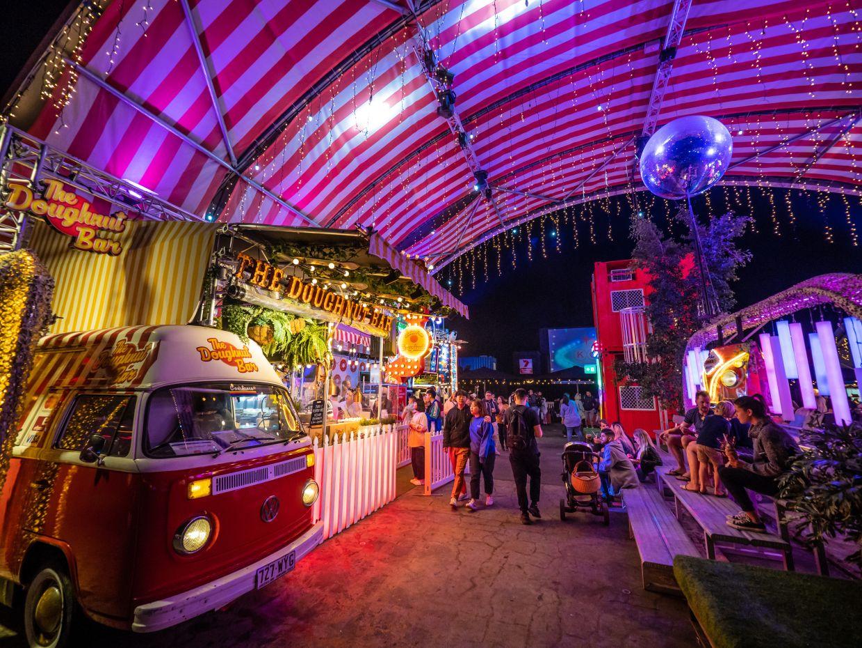 Eat Street Northshore, Queensland. Photo: Tourism Australia