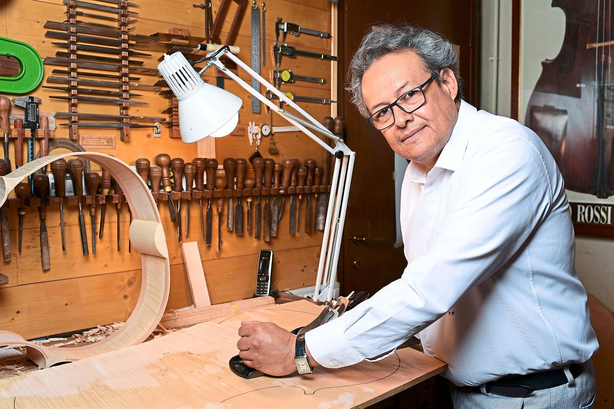 Grisales, president of Cremona's Antonio Stradivari luthiers consortium, said the market for violin makers, which is an elite market, has shrunk.