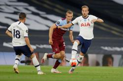 West Ham relegation fears grow after defeat at Spurs