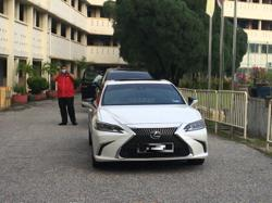Perak MB trades Camry for Lexus