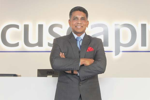 """Cuscapi CEO Anthony Gerald: """"Our solution is ahead of its time and we believe it will bring about a very positive impact on food operators during this challenging time. """""""