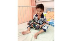 Hole-in-heart boy bounces back after surgery in KL