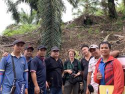 Group setting guidelines to manage orang utan habitats