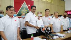 Buntong rep and former DAP man Sivasubramaniam joins Gerakan
