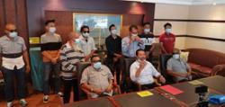 Warisan's temporary members in Kota Belud say goodbye
