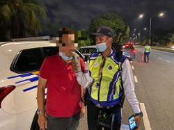 Four arrested for drink driving in Johor