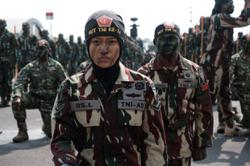 Long road to gender equality in Indonesian military