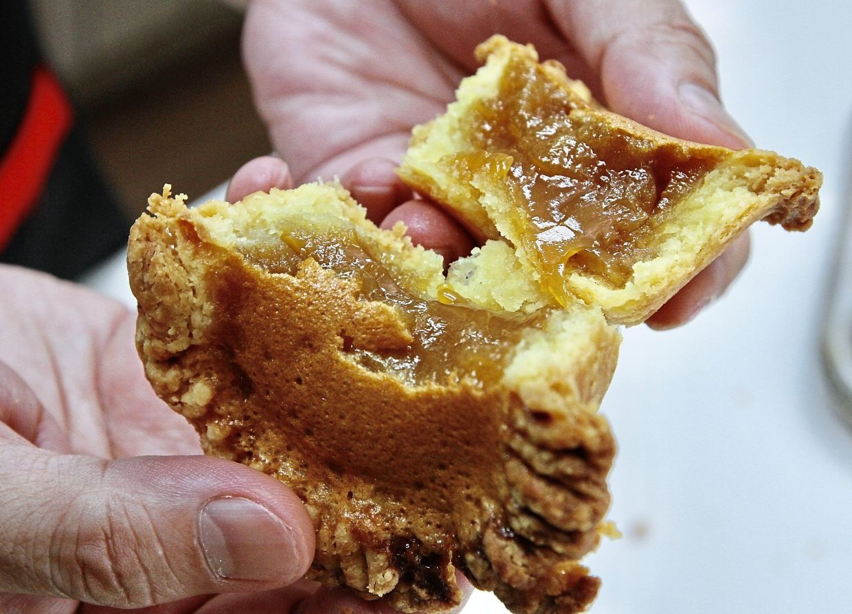 Butter tarts have a gooey filling made of eggs and maple syrup. — Photos: LOW LAY PHON/The Star