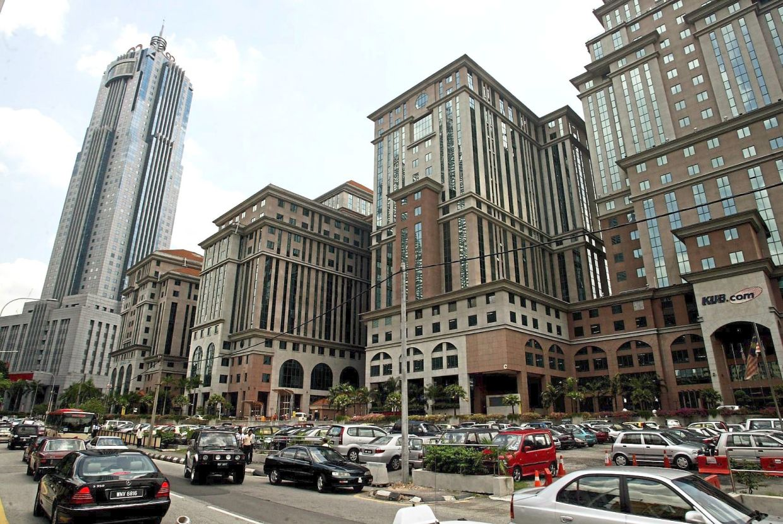 Vast land: Menara KUB in Kuala Lumpur. In total, the company owns 8,866ha of oil palm plantation area in Johor, Sabah and Sarawak.