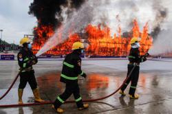 Thailand and Myanmar burn seized drugs worth US$2 billion