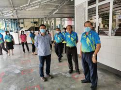 Ipoh kindergarten inspected by city councillor, satisfies SOP check