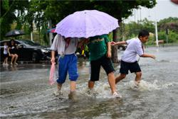 China on yellow alert as rainstorms continue to wreak havoc