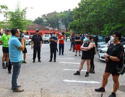 Hikers adjust to new norm at Bukit Wawasan