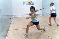 Amirah's American dream on hold – but not her training